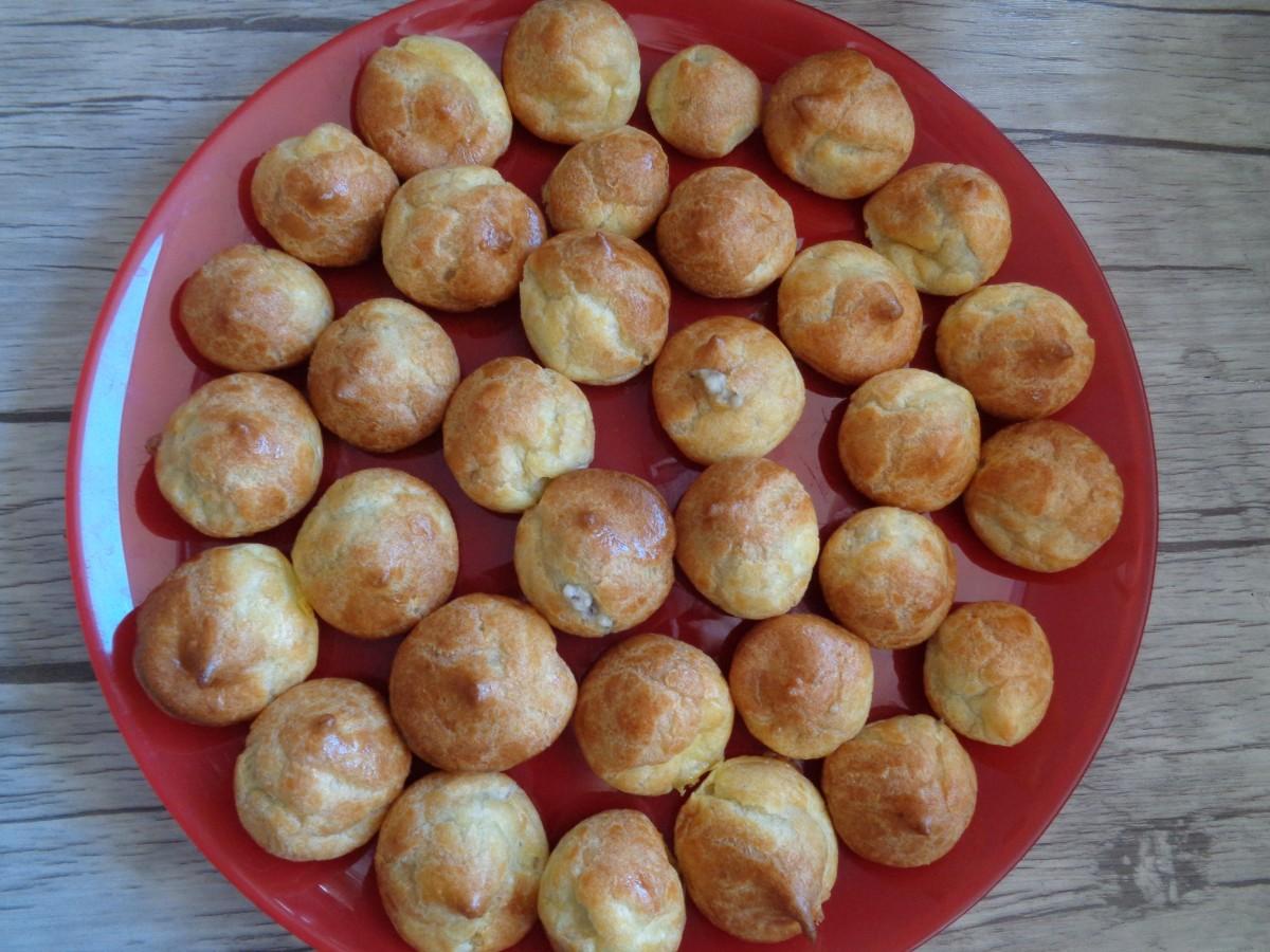 gougères-béchamel-champignons (13)